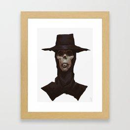 Mummy with a hat Framed Art Print