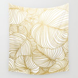 Wilderness Gold Wall Tapestry