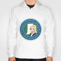 parks Hoodies featuring Parks & Rec. by BlackRose Designs