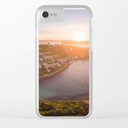 Shelly Beach in Manly Clear iPhone Case
