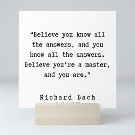 55 | Richard Bach Quotes | 190916 Mini Art Print