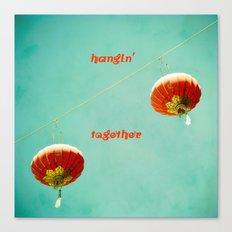 Hangin' Together Canvas Print