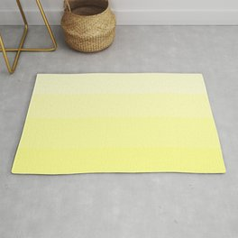 Soft Yellow Hues Palete - Color Therapy Rug