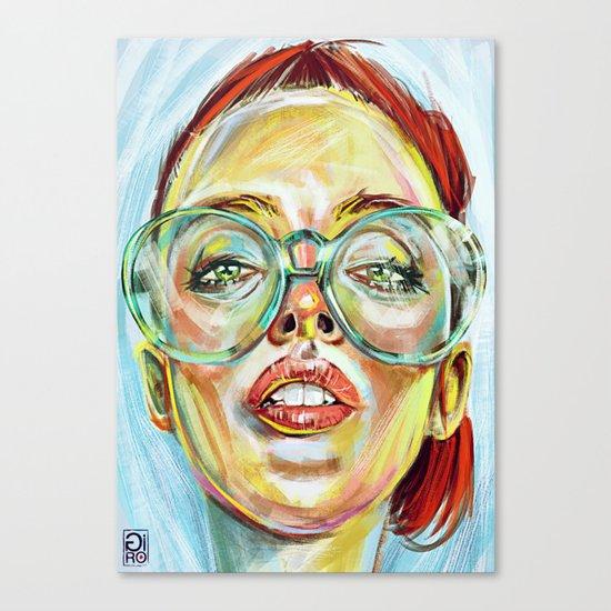 """Glowing 2"" Canvas Print"