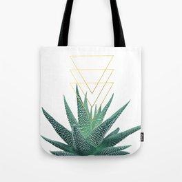 Succulent geometric Tote Bag