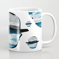 magritte Mugs featuring Ceci n'est pas une Magritte by Condor