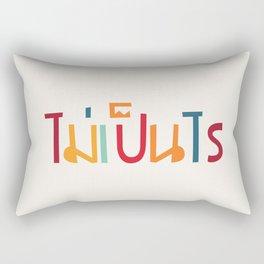 Nevermind (Mai pen rai) Rectangular Pillow
