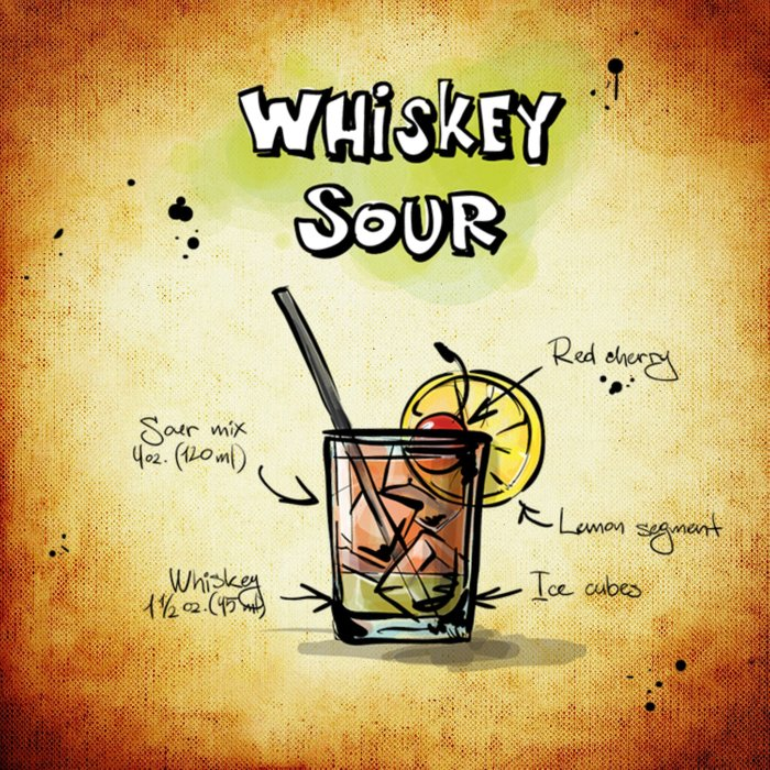 Whiskey Sour Comforters