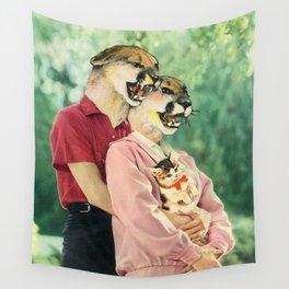 Family Photo Wall Tapestry