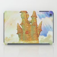 castle in the sky iPad Cases featuring castle in the sky by Ancello