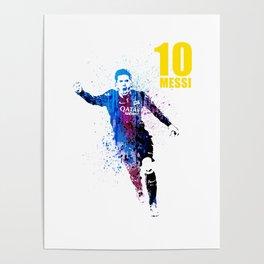Sports art _ Barcelona Poster