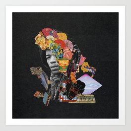 Voodoo Child Art Print