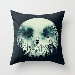 Halloween Town Throw Pillow