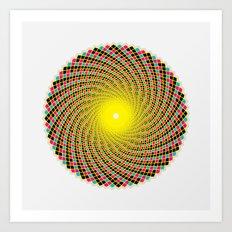 GodEye8 Art Print