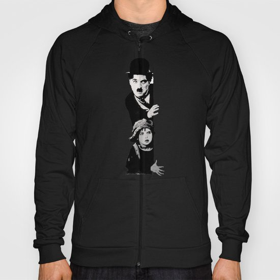 Chaplin and the kid - Urban ART Hoody
