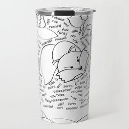 the 11th fox - the sleeping version Travel Mug