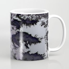 Purple Trees Landscape | Nadia Bonello | Canada Coffee Mug