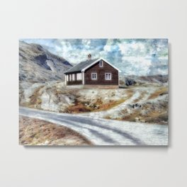 House On Dalsnibba Road Metal Print