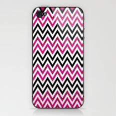Pink Chevron iPhone & iPod Skin