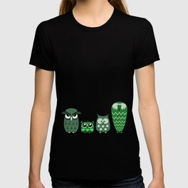 All is Owly (green) T-shirt