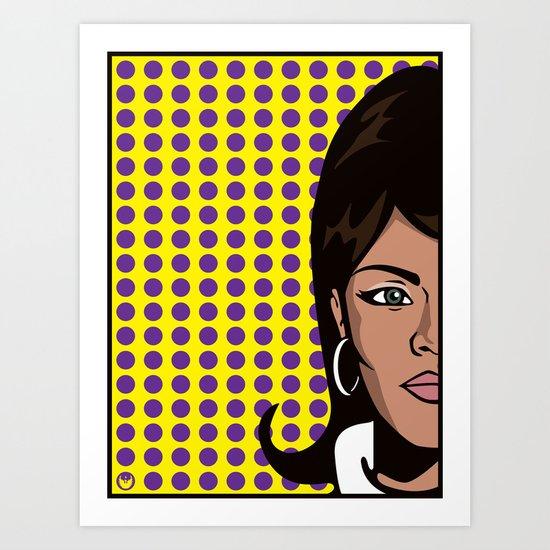 Lana Kane of ISIS... Art Print