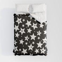 Star pattern white, christmas Comforters