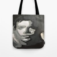 captain Tote Bags featuring Captain! by Taylor Perren