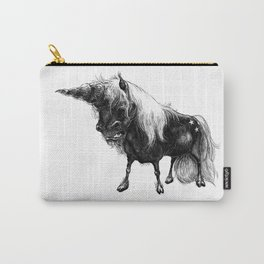 Angry Unicorn Carry-All Pouch
