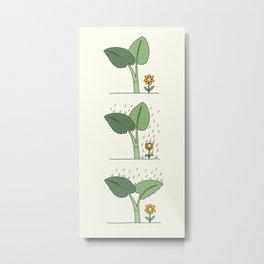 plant seeds of kindness Metal Print