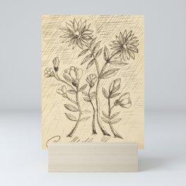 Oak Branch (ca. 1907–1908) by Henri Rousseau. Mini Art Print