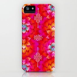 Variations on A Feather IV - Stars Aligned (Firebird Edition) iPhone Case