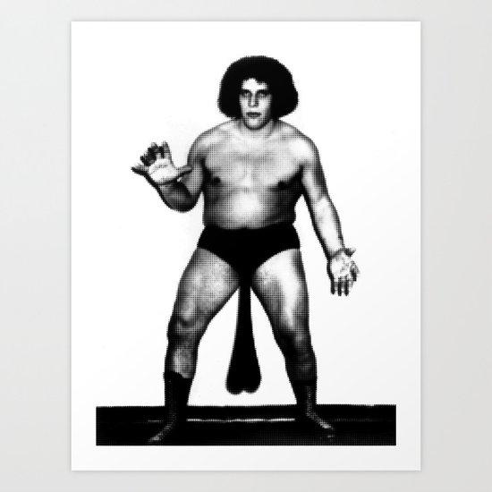 Andre's Giants Art Print