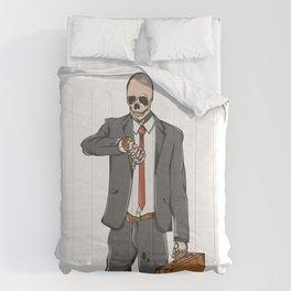Business Skull Comforters