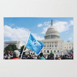 Deaf Grassroots Movement Rug