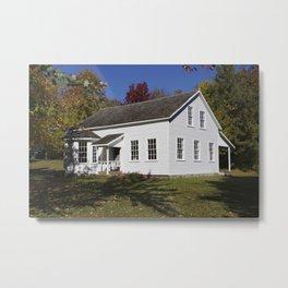 Historic Farmhouse - Caddie Woodlawn House Metal Print
