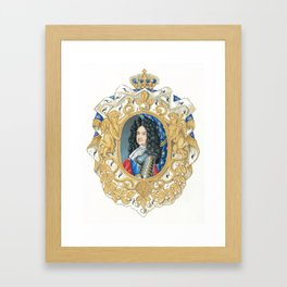 King Louis XIV Framed Art Print