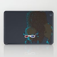 bison iPad Cases featuring Bison by Vó Maria