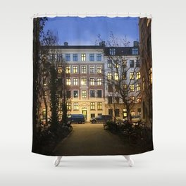 streets of Vesterbro pt.1 Shower Curtain