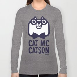 Cat Mc Catson Long Sleeve T-shirt