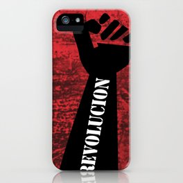 Fist Revolution iPhone Case