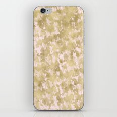 Blush Pink Gold Abstract iPhone & iPod Skin