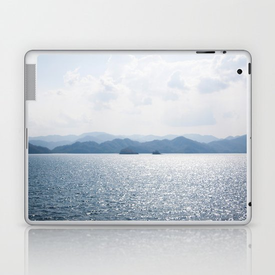 BE SO HAPPY THAT WHEN OTHERS LOOK AT YOU, THEY BECOME HAPPY TOO Laptop & iPad Skin
