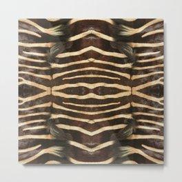 """Pop Safari 02 Zebra"" Metal Print"