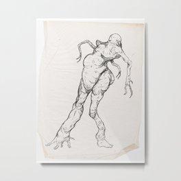 Sketch #9 Metal Print