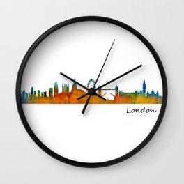 London City Skyline HQ v1 Wall Clock