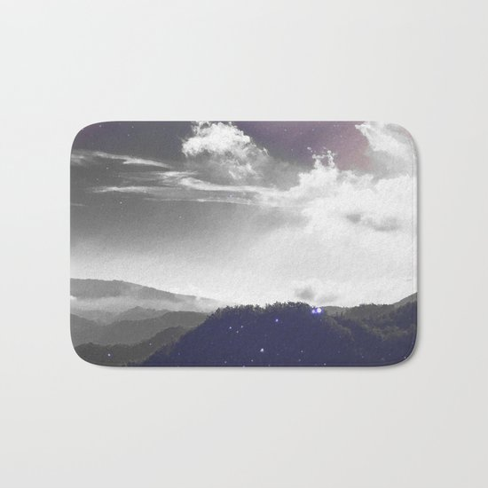 Galaxy Mountain #society6 #buyart #decor Bath Mat