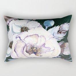 Flowers bouquet #58 Rectangular Pillow