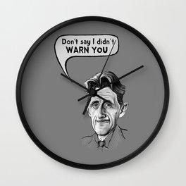 Orwell Wall Clock