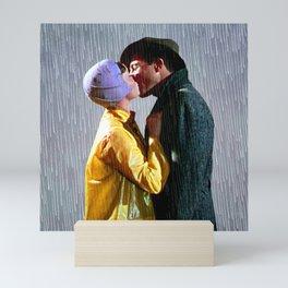 Singin' in the Rain - Slate Mini Art Print