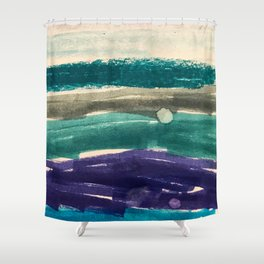 OceanVibes Shower Curtain